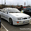 Ford sierra RS cosworth (Rencard Vigie mars 2011) 01