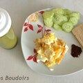 Idée recette: déjeuner sur le pouce / recipe of the day: fast lunch