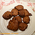 Cookies aux <b>fruits</b> <b>secs</b>
