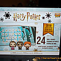 Calendrier de l'Avent Noël 2019 Harry Potter Funko Pop