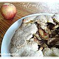 Tarte rustique aux pommes et à la cannelle délicieuse et rapide