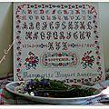 Marquoir marguerite huguet