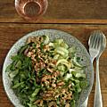Le bok choy en salade