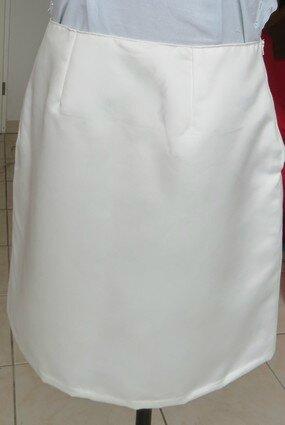jupe blanche mathilde