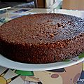 Gâteau au chocolat et noix de coco râpée!