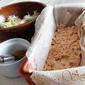 Cake de brick au saumon et aux poireaux