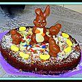 Gâteau moelleux chocolat/carambar