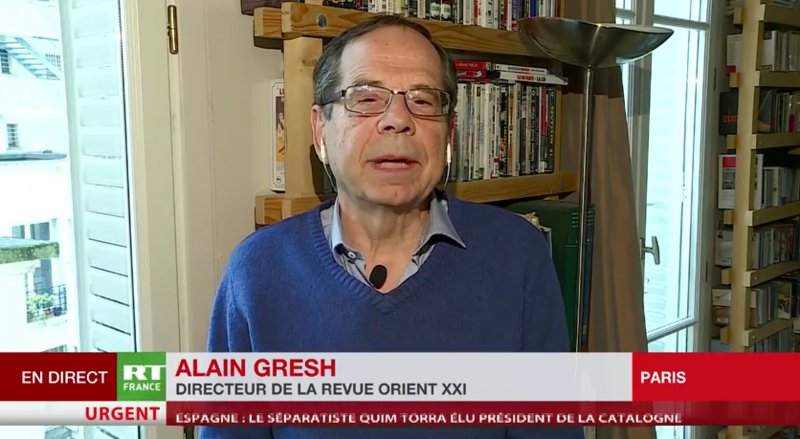 ALAIN GRESH VIDEO