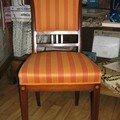 Des chaises art deco....