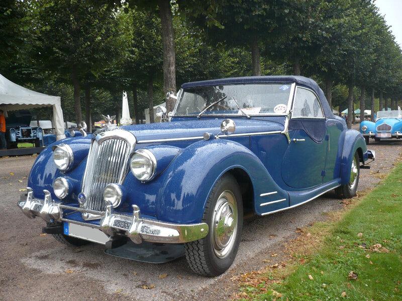 RILEY RMC roadster 1950 Schwetzingen (1)