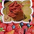 Mousse de <b>fruites</b> des <b>bois</b> au siphon