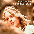 Pique-nique à hanging rock - le livre et le film