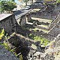 Saint-Pierre, une des nombreuses maisons ravagées par l'éruption