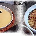 ''crème catalane (crème brûlée)''