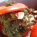 Tomates farcies au brocoli