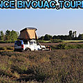 A chacun son mode de bivouac, spot Park4night, camping, ou en mode baroudeur en pleine nature... mais attention !