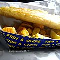 fish and <b>chips</b>