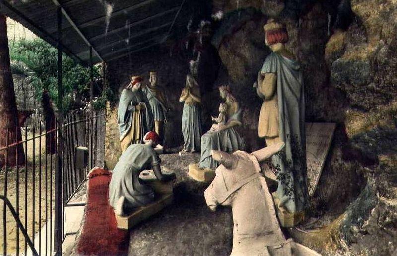 Notre Dame de Verdelais, le Pas de la Mule