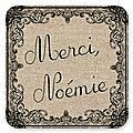 Pour Noémie...