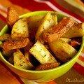 Mes potatoes de fainéante, version mixte: potiron et pommes de terre...parce que noël ça va bien 2 minutes hein !!