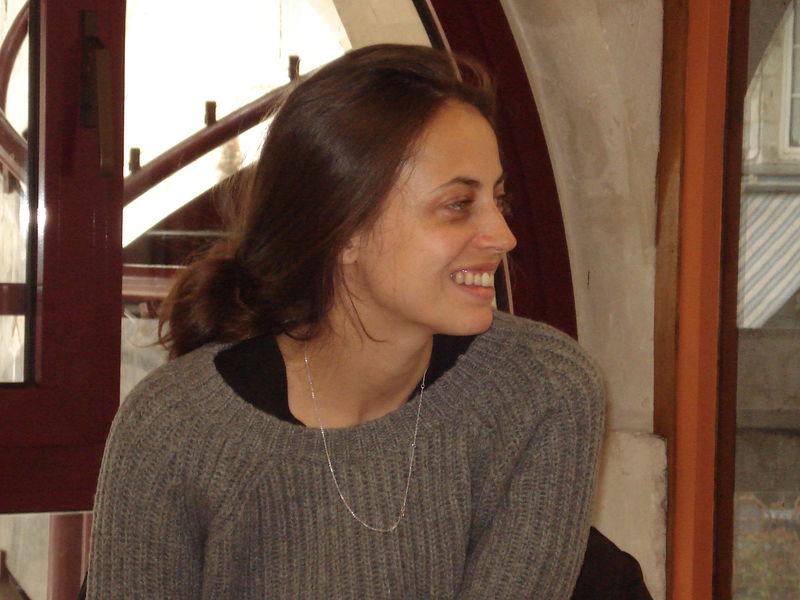 Discussion avec Anne Bérest à la Halle aux grains (2)