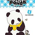 Pan'pan' panda, une vie en douceur (tome 01) de sato horokura