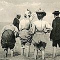 Les bains de mer en 1900 sur la Côte d'Azur