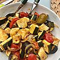 Légumes d'Été rôti au four