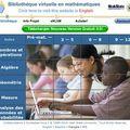 Une bibliothèque virtuelle en mathématiques !