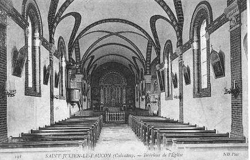 l'église : intérieur