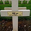 DION Emile (Géhée) + 19/07/1918 Catenoy (<b>60</b>)