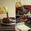 Mon premier gravity-cake + le tuto en images