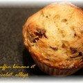 Les meilleurs muffins banane-chocolat version allégé