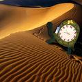 Horloge doudou tortue