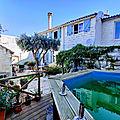 News 2019: Maison chambres d'hôtes libertine coquine et naturiste avec piscine 34, Saly Sénégal et Barcelone Espagne.