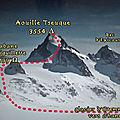 Aouille Tseuque à ski 3543 m – Valais – Suisse