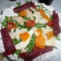 Salade poires et parmesan