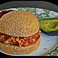 Le sloppy joe {sandwich vegan}