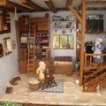 Vitrine miniature , l'atelier des souris