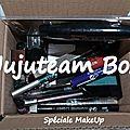 Concours des 2 ans : la jujuteam make up box