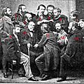 Mistral lisant calendal - félibrige 1866