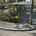 Rond-point à Rio de Janeiro (Brésil)