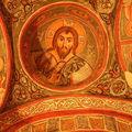 à la CAPPADOCE. 6 : à GÖREME- église en plein air. en TURQUIE