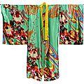 Grand Kimono vert