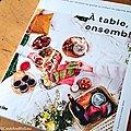 {Livre} A Table, Ensemble