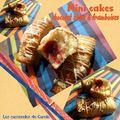 Mini-cakes chocolat blanc & framboises