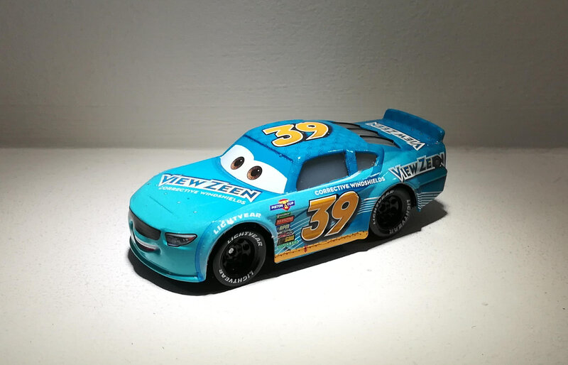 Buck Bearingly (Mattel Cars) 02
