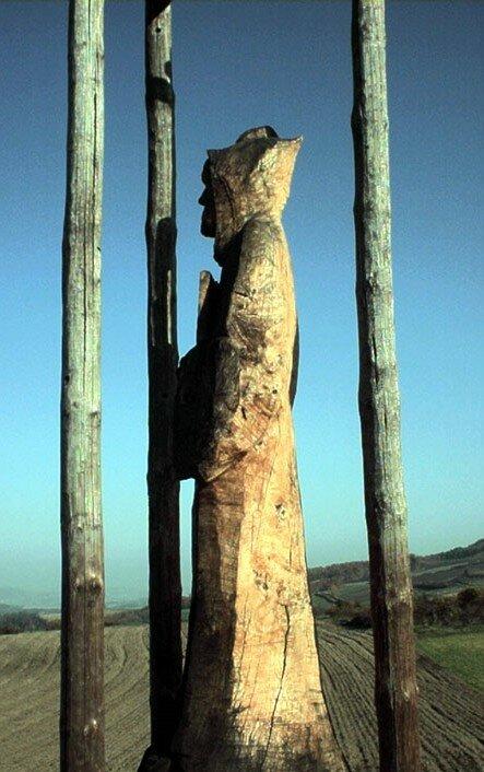 statue de Saint Benoît