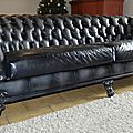 Le canapé chesterfield baroque