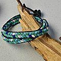 Instructions sur comment faire un bracelet en perles de rocailles de 2 tous